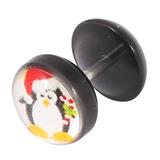 Acrylic Logo Fake Plug - Christmas Xmas Christmas Penguin