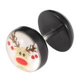 Acrylic Logo Fake Plug - Christmas Xmas Christmas Reindeer