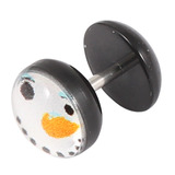 Acrylic Logo Fake Plug - Christmas Xmas Christmas Snowman