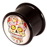 Acrylic Logo Plugs 16-20mm 18 / Sugar Skull