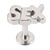 Steel Labret with Cast Steel Attachment 1.6mm - SKU 22782