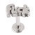Steel Labret with Cast Steel Attachment 1.6mm - SKU 22791