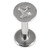 Steel Labret with Cast Steel Attachment 1.6mm - SKU 22802