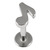 Steel Labret with Cast Steel Attachment 1.6mm - SKU 22808