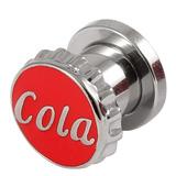 Steel Cola Screw Flesh Tunnel 8