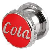 Steel Cola Screw Flesh Tunnel 14
