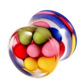 Acrylic Multicoloured Beads Plug 10