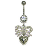 Belly Bar - Sparkle Bow Bow (XM5)