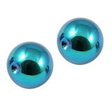 Titanium Clip in Ball (for BCR) 4 / Turquoise / 2 balls (a pair)