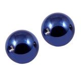 Titanium Clip in Ball (for BCR) 5 / Blue / 2 balls (a pair)