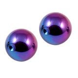 Titanium Clip in Ball (for BCR) 5 / Rainbow / 2 balls (a pair)
