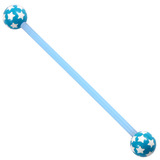 Bioflex Industrial Scaffold Barbells - Multi-Star 36 / Blue shaft with Blue Multi Star Balls / 5