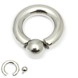 Steel BCR with Screw-in Ball 10mm, 19mm, (15mm)