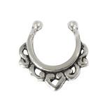 Sterling Silver Clip On Septum Rings - SKU 28061