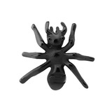 Black Steel Threaded Ant 1.2mm gauge, length is approximately 9mm.