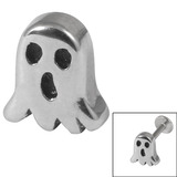 Steel Threaded Attachment - 1.2mm Cast Steel Ghost 1.2mm / Ghost