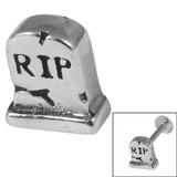Steel Threaded Attachment - 1.2mm Cast Steel RIP Headstone 1.2mm / RIP Headstone