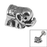 Steel Threaded Attachment - 1.2mm Cast Steel Elephant 1.2mm / Elephant