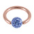 Rose Gold Steel BCR with Smooth Glitzy Ball 1.2mm - SKU 28673