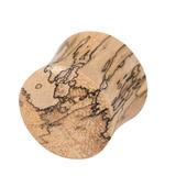 Organic Plug Tamarind Wood (OG18) 6mm, Tamarind Wood