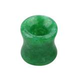 Jade Stone Double Flared Eyelet Tunnel 6mm