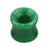 Jade Stone Double Flared Eyelet Tunnel 8mm