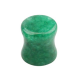 Jade Stone Double Flared Tapered Plug 6mm