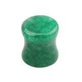 Jade Stone Double Flared Tapered Plug - SKU 28868
