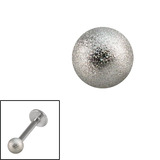 Steel Threaded Shimmer Balls 1.2mm 1.2mm, 3mm. One ball only.