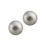 Steel Threaded Shimmer Balls 1.2mm 1.2mm, 4mm. Pack of 2 balls.