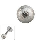 Steel Threaded Shimmer Balls 1.6mm 1.6mm, 4mm. One ball only.