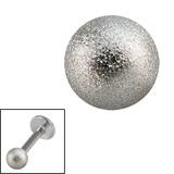 Steel Threaded Shimmer Balls 1.6mm 1.6mm, 5mm. One ball only.