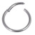 Titanium Hinged Segment Ring (Clicker) 1.2 and 1.6mm Gauge - SKU 29364