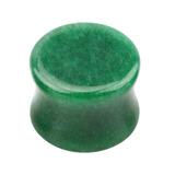Jade Stone Double Flared Tapered Plug - SKU 30160