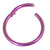 Titanium Hinged Segment Ring (Clicker) 1.2 and 1.6mm Gauge - SKU 30736