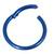 Titanium Hinged Segment Ring (Clicker) 1.2 and 1.6mm Gauge - SKU 31378