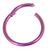Titanium Hinged Segment Ring (Clicker) 1.2 and 1.6mm Gauge - SKU 31381