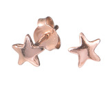 Sterling Silver Star Ear Stud Earrings - SKU 32608
