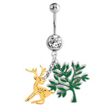 Belly Bar - Woodland Reindeer - SKU 33089