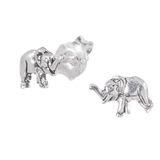 Sterling Silver Elephant Ear Stud Earrings ES27 - SKU 33204