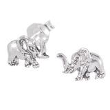 Sterling Silver Elephant Ear Stud Earrings ES27 - SKU 33205