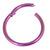 Titanium Hinged Segment Ring (Clicker) 1.2 and 1.6mm Gauge - SKU 33583