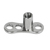Titanium Dermal Anchor Base - Curved - SKU 34198