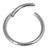 Titanium Hinged Segment Ring (Clicker) 1.2 and 1.6mm Gauge - SKU 34527