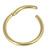 Titanium Hinged Segment Ring (Clicker) 1.2 and 1.6mm Gauge - SKU 34529