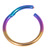 Titanium Hinged Segment Ring (Clicker) 1.2 and 1.6mm Gauge - SKU 34532