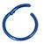Titanium Hinged Segment Ring (Clicker) 1.2 and 1.6mm Gauge - SKU 34915