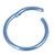 Titanium Hinged Segment Ring (Clicker) 1.2 and 1.6mm Gauge - SKU 34917