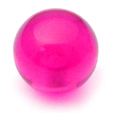 Acrylic Ball (Plain) 1.2mm, 3mm / Purple
