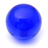 Acrylic Ball (Plain) 1.2mm, 3mm / Blue